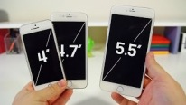 "iPhone 6 5.5"" ve 4.7"""
