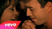 Whitney Houston Ft Enrique Iglesias - Could I Have This Kiss Forever